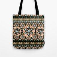 Millefiori Rosette Tote Bag