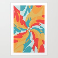 Splat (Available In The … Art Print
