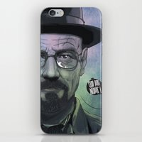 Heisenberg, Say My Name! iPhone & iPod Skin