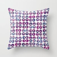 Broken Geometry 4 Throw Pillow