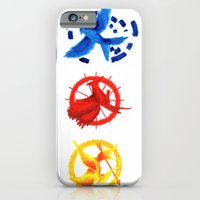 iPhone & iPod Case featuring The H Games - Mockingjay by Blanca MonQnill Sole