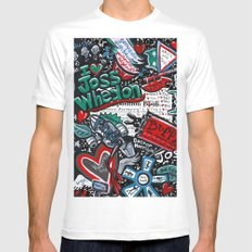 I heart Joss Whedon Mens Fitted Tee SMALL White