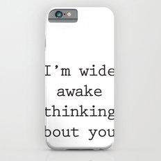 Wide Awake Print iPhone 6s Slim Case