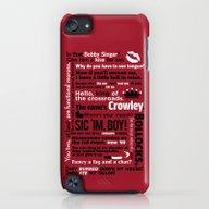 Supernatural - Crowley Q… iPod touch Slim Case