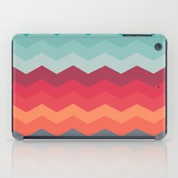 Color Strips Pattern iPad Case