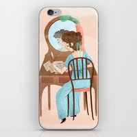 Jane Austen iPhone & iPod Skin