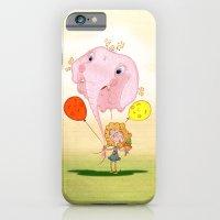 balloon iPhone & iPod Cases featuring balloon by José Luis Guerrero