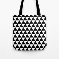 Equilateral Triangles Tote Bag