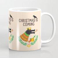Christmas is coming Mug