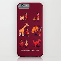 iPhone & iPod Case featuring Please Keep Pets on a Leash by Ben Douglass