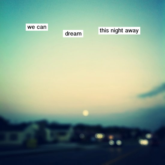 we can dream this night away Art Print