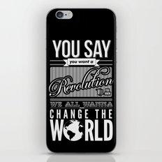Revolution.  iPhone & iPod Skin