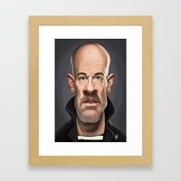 Celebrity Sunday - Micha… Framed Art Print