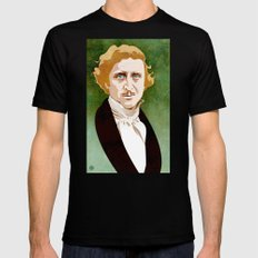 Young Frankenstein SMALL Black Mens Fitted Tee
