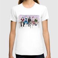 The Breakfast Club Womens Fitted Tee White MEDIUM