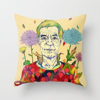 Timothy Leary Throw Pillow
