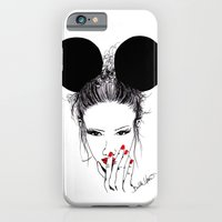 iPhone & iPod Case featuring Minnie Mouse by Bella Harris