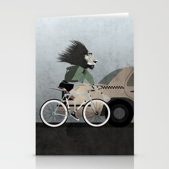 Alleycat Races Stationery Card