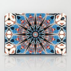 Black And Blue Mandala iPad Case