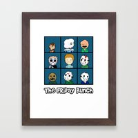 The Friday Bunch Framed Art Print
