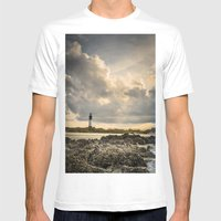 Lost Mens Fitted Tee White SMALL