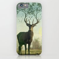 iPhone & iPod Case featuring Evergreen Stage Horn by vin zzep
