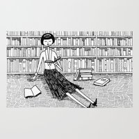 She Just Wanted To Read … Rug