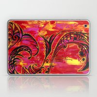 Red and Gold  Laptop & iPad Skin