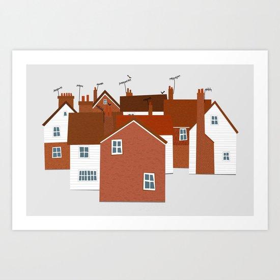 Kitchen Design Tunbridge Wells: Tunbridge Wells Art Print By Nic Squirrell