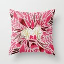 As If – Pink & Gold Throw Pillow
