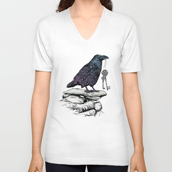 Raven's Keys V-neck T-shirt