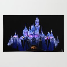 Sleeping Beauty's Winter Castle Rug