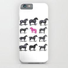 Brave Horses & Pink Pony Slim Case iPhone 6s