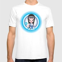 Aquarius Mens Fitted Tee White SMALL