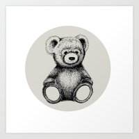 Teddy Bear Art Print