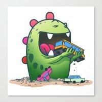 Dinosaur Canvas Print