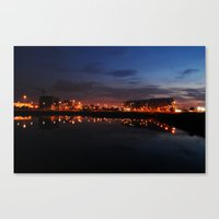 Reflected Lights Canvas Print