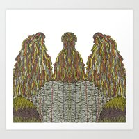 Humps! Art Print