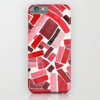 warm color pattern iPhone 6 Slim Case