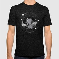 Black Hole Mens Fitted Tee Tri-Black SMALL