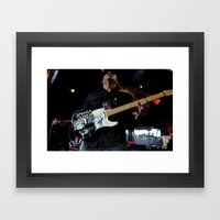 Tom Morello - Rage Against the Machine /AUDIOSLAVE Framed Art Print