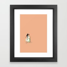 Celloist Framed Art Print
