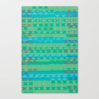 Summertime Green Canvas Print