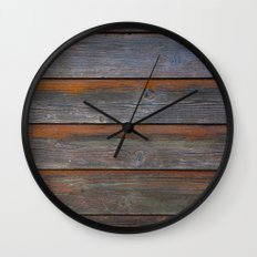 Rustic Wood Panel Boards… Wall Clock