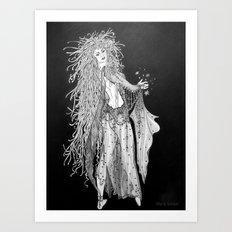 Fairy of the Night - Maia Art Print