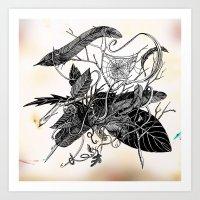 dream catcher Art Prints featuring Dream Catcher by brenda erickson