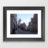Rotenburg Germany Framed Art Print