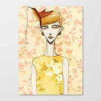 Flowerella 4 Canvas Print