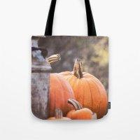 Pumpkins + Milk Cans Tote Bag