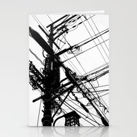 Telephone Poll 2 Stationery Cards